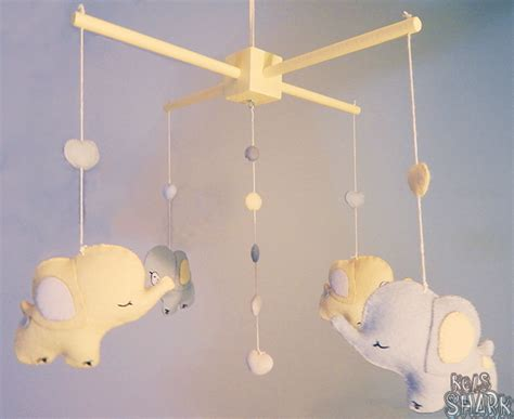 How To Make A Paper Mobile For Nursery - kels shark elephants and bubbles baby mobile project