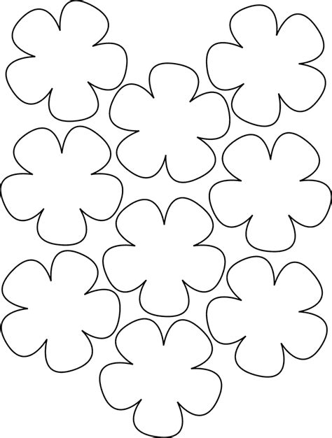 Hawaiian Flower Template Image Detail For Hawaiian Paper Flowers Lei Hawaiian Template Tutoriales 1 Pinterest