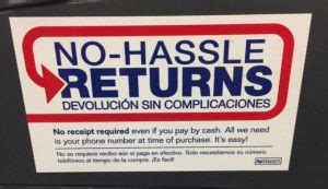 tile return policy at lowes lowes return policy store return policy
