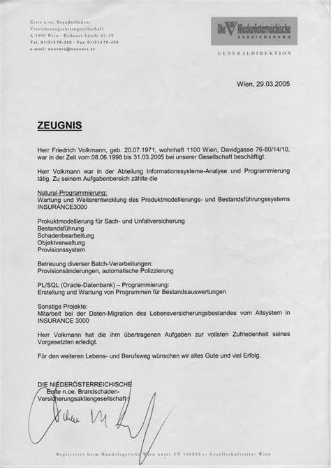 Lebenslauf Englisch Zertifikat Bewerbungsunterlagen