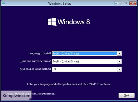 tutorial instal ulang windows 7 lengkap cara instal dan instal ulang windows 8 1 lengkap dengan