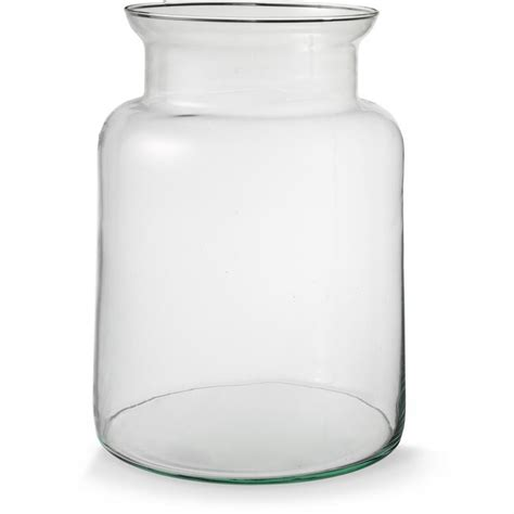glazen vaas l mathew vaas glas 25 x 19 cm blokker