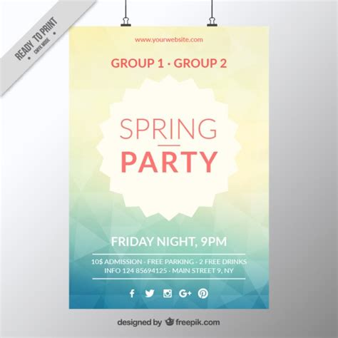 poster free template 50 awesome flyer templates for your next event
