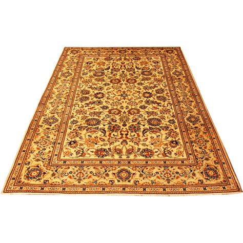 6 x 7 rug size 4 7 x 6 10 kashan wool rug from iran