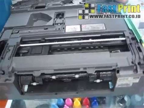 cara reset brother dcp j125 tutorial membongkar printer brother dcp j125 funnycat tv