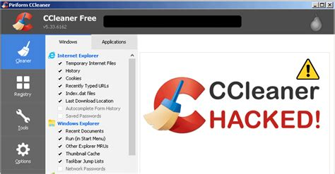 ccleaner hack what to do ccleaner hacked qooah
