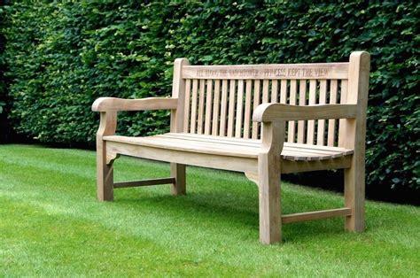 hardwood garden benches memorial wooden garden bench makemesomethingspecial com