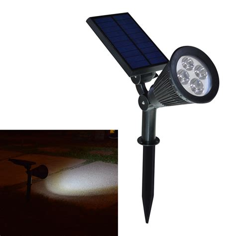 solar led spot light new arrival led solar light outdoor solar power spotlight garden lawn l landscape spot lights