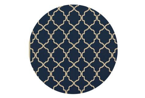 Southern Home Decor Stores by 94 Inch Round Rug Montauk Navy Living Spaces