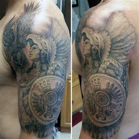 mexican tribal tattoo 125 best aztec designs for