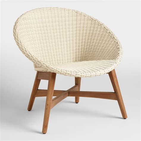 World Market Lounge Chair by All Weather Wicker Vernazza Chairs Set Of 2 World