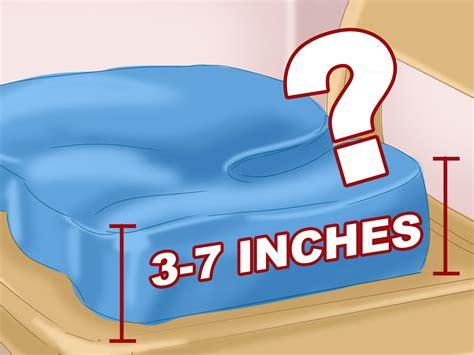 cuscino per coccige come usare un cuscino per il coccige 12 passaggi