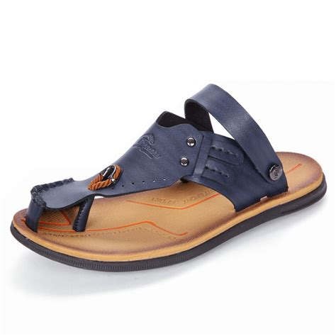 Wedges Premium Quality Big Promo Fashion Import 2 high quality anti collision toe metal buckle slip on soft casual sandals newchic