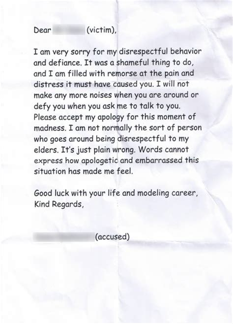 Apology Letter To Your Coach Best Photos Of Apology Letter For Being Disrespectful Biller Cover Letter Apology