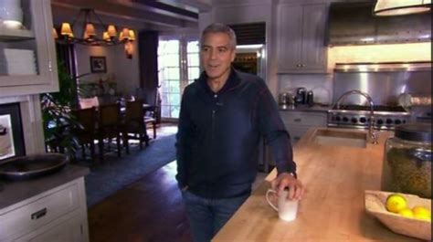 George Clooney Doesnt Come Cheap by A Peek Inside George Clooney S L A Home Hooked On Houses