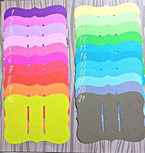 hair clip display card template 175 best card stands images on cartonnage