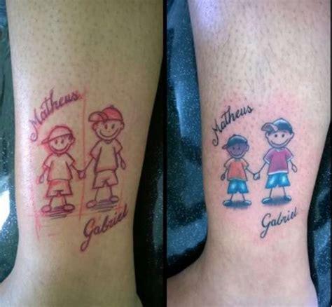 lettere per i figli tatuaggi da dedicare ai figli foto qnm