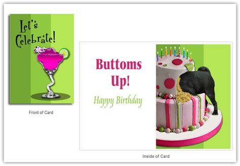 black pug birthday card pug birthday card gangcraft net
