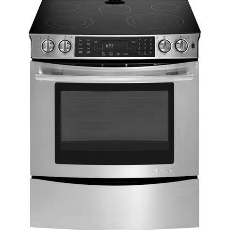 Ge Radiant Cooktop Slide In Electric Range With Convection 30 Quot Jenn Air