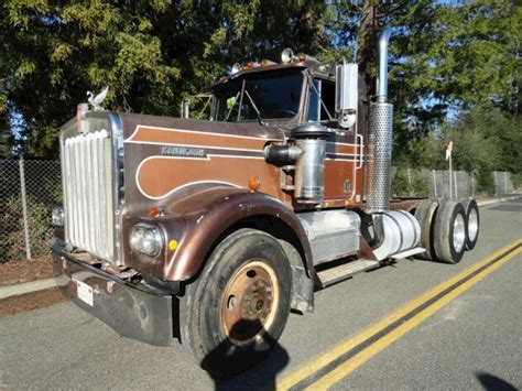 kenworth chassis for sale 1979 kenworth w900 heavy duty cab chassis truck for sale