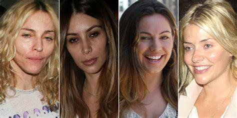 celebrities in their 50s in 2014 make up free stars 50 celebs who dared to bare in public