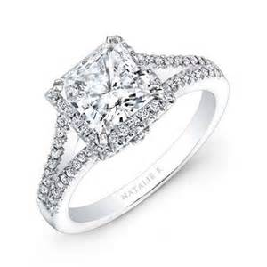 fashion fok beautiful designed princess cut engagement