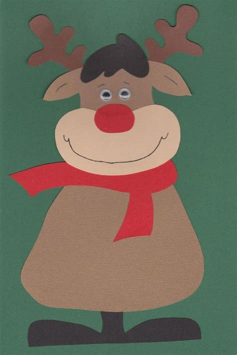 rudolph crafts for preschoolers rudolph the nosed reindeer free template at http www craft ideas