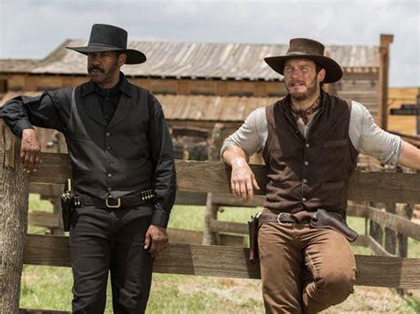 film cowboy 2016 denzel washington chris pratt and ethan hawke cowboy up