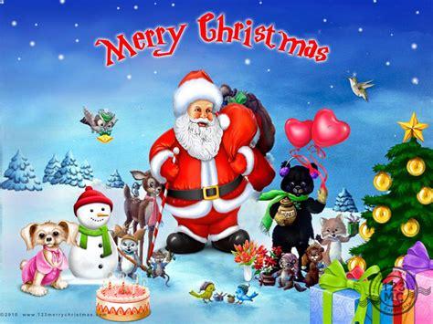christmas wallpaper with santa claus christmas santa claus 1 desktop background hivewallpaper com