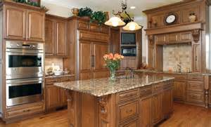 Wood Stain Colors For Kitchen Cabinets Classical Kitchen Huntwood Custom Cabinets Kitchen
