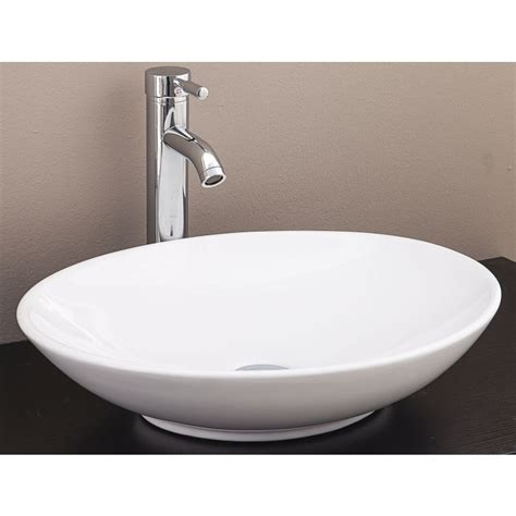 Bathroom Basins And Vanities by Above Counter Bathroom Vanity Oval Ceramic Basin Buy
