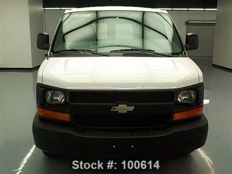 automobile air conditioning repair 2000 chevrolet express 2500 security system buy used 2013 chevy express cargo van v6 air conditioning 25k mi texas direct auto in stafford