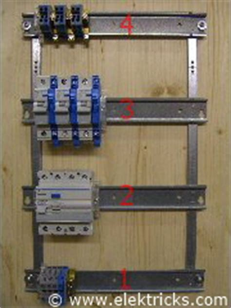 Elcb 16a Kabel rcd fehlerstromschutzschalter anschliessen elektricks