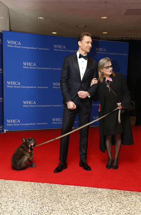 carrie house carrie fisher at white house correspondents dinner in washington 04 30 2016