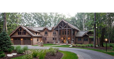 Cabins Mountain Ny by Log Mansions New York Log Homes Cedar Log Cabin Homes