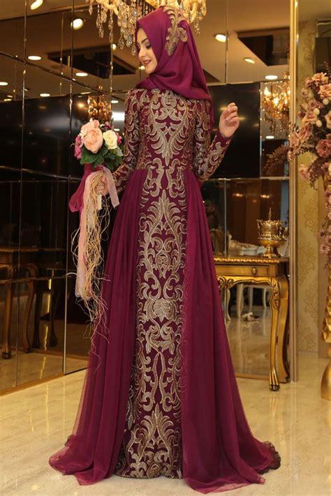 Set Koran 2 Wrn Abu Maroon 2 4 pınar şems tılsım abiye bordo pınar şems muslimah fashion dress abayas