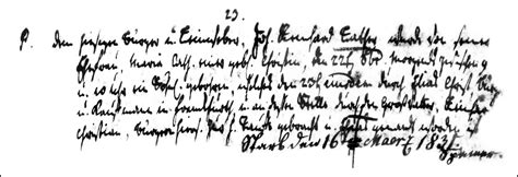Hesse Darmstadt Birth Records The Birth And Baptism Of Elias Lather 1781 Steve S