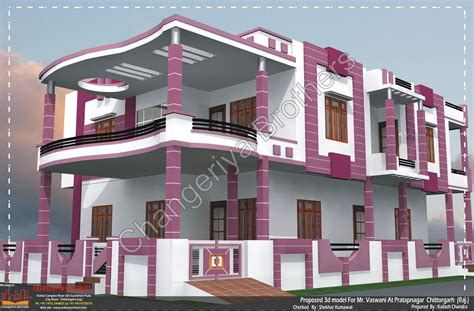 2 Floor Indian House Plans 3d House Naksha Joy Studio Design Gallery Best Design