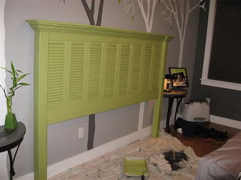 diy shutter headboard headboard made from shutters shutter projects