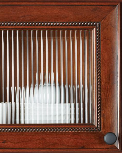 english reeded pattern glass glass and grille options kitchen cabinets bath vanities