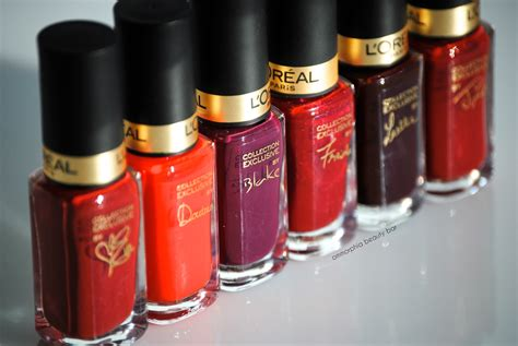 L Oreal Collection Reds l or 233 al collection exclusive reds by colour