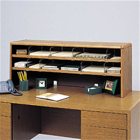 Desk Top Shelving by Safco Value Mate Shelf Desktop Unit Saf3524mo