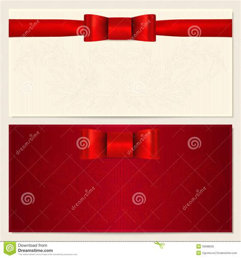Gift Card Background - voucher gift certificate gift card coupon royalty free stock photo image 33588535