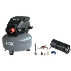 home depot air compressors hdx 2 gal pancake air compressor 0210284c the home depot