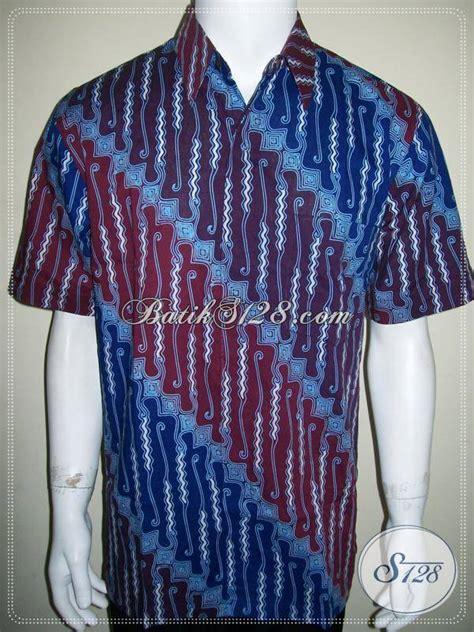 kemeja batik parang barong keren dan elegan baju batik