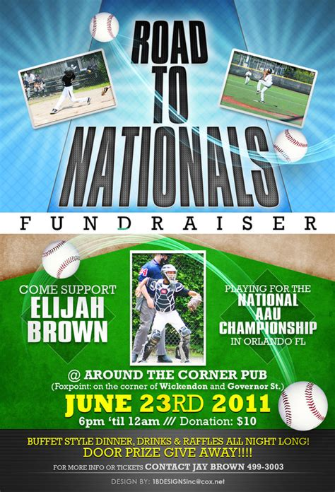 baseball fundraiser flyer template fundraiser flyer by anotherbcreation on deviantart