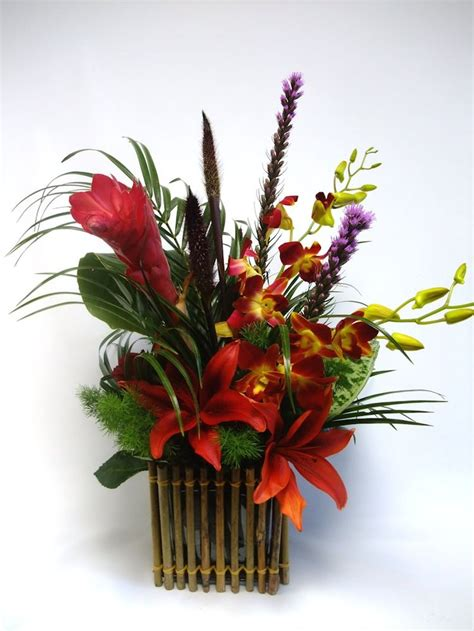 flower arrangement pictures with theme 74 best images about tropical floral arrangements on