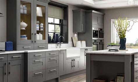 wickes kitchen island wickes tiverton slate cupboards and lyskam white quartz worktop plus butler s sink and chrome