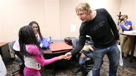 does dean ambrose have kids big dave meltz quot ambrose felt like more of a chion than