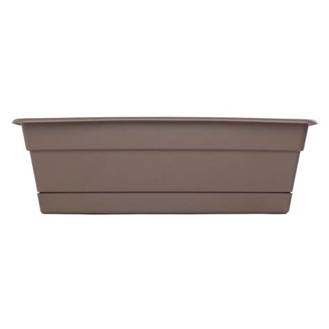 Plastic Window Planter by Bloem 30 In Curated Dura Cotta Plastic Window Box Dcbt30